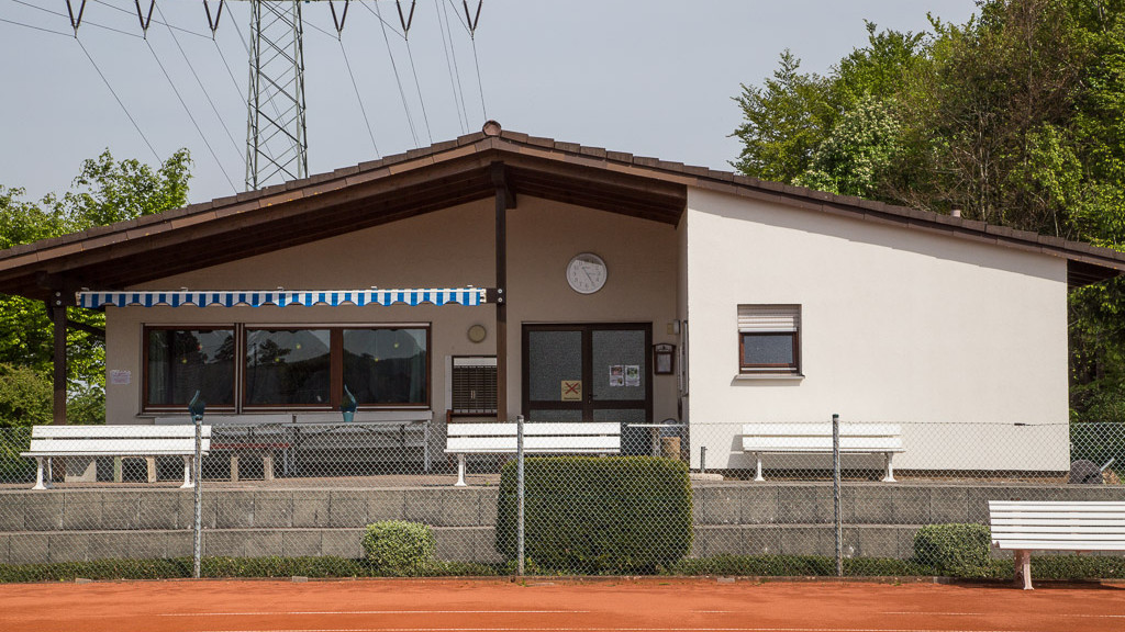 Clubhaus des TC Herbrechtingen